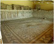 Mosaïque de la Bibliothèque de Néon.