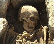 Squelette du 7eme siècle.